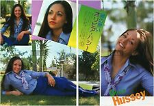 OLIVIA HUSSEY 1975 Japan Picture Clippings 2-SHEES nf/n