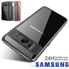 Parechoc Housse Coque Samsung S6 S7Edge S8 S9 Plus S10 J3 J5 J6 A3 A5 A7 Note8 9