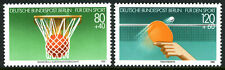 Germany-Berlin 9NB221-9NB222,MNH. Sports. Basketball, Table Tennis, 1985