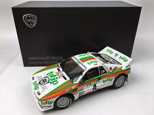 Kyosho 1:18 LANCIA 037 Rally Portugal 1985 (Totip)Diecast Metal Mode Car