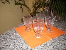 4er Set Groggläser Teegläser 200 ml Glas Eisbecher