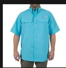 Men's Realtree Fishing Guide Shirt 34/36 Button Down Vented Shirt