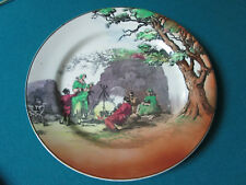 "Vintage 1920 Royal Doulton - The Gypsies Collector Plate 10 "" [*Rd25]"