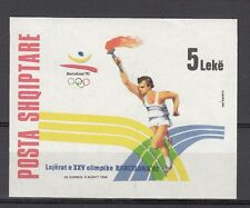 ALBANIA Sc 2415 NH SOUVENIR SHEET OF 1992 - OLYMPICS