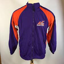 Vtg Ue University Evansville Purple Aces Game Used Coat Swimming Diving Jacket