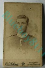 More details for 19th century royal artillery soldier cdv photograph by g a oldham colchester