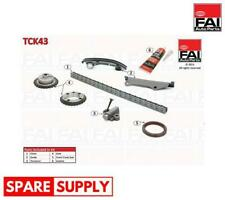TIMING CHAIN KIT FOR NISSAN OPEL RENAULT FAI AUTOPARTS TCK43