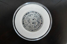 NEVER REDEMED 2013 LEALANA 0.1 BTC 1/4 TROY OZ PHYSICAL BIT COIN FULLY FUNDED