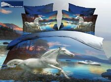 HORSE-1 King Size Bed Duvet/Doona/Quilt Cover Set Brand New