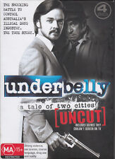 Underbelly:A Tale of Two Cities-2008/13-TV Series Aust-[Uncut 4 Disc Set]-4 DVD