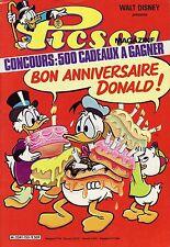 Picsou Magazine N°153 - Walt Disney - Eds. Edi-Monde - 1984