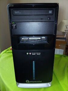 PC Specialist desktop i7-4790 (3.6GHz) 8mb Cache 16GB RAM, 1TB HDD, wifi