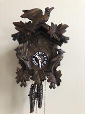 Cuckoo Clock - Anton Schneider - Black Forest - Carved