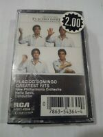 Placido Domingo  Greatest Hits  SEALED RCA AGK1-4364 Stereo Cassette