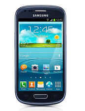 Samsung Galaxy S III Mini VE GT-I8200 - 8GB - Pebble Blue (Unlocked) Smartphone