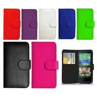 Flip Wallet Leather Book Case Cover For Htc Phones Free Screen Protector NEWDEAL