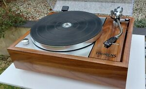 Thorens TD150 mk1, stunning refurb, Acos rega tonearm, Walnut plinth