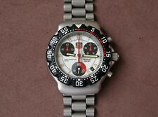 Tag Heuer F1 Limited editon Renault sport chrongraph vintage watch CA1212-1  NOS