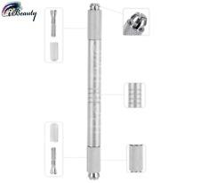 Microblading Pen Permanent make-up Gerät  Handmethode Stift Silber