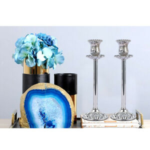 Taper Candlestick Holder Suitable for 3/4 inch Candle Decorative Metal Candle