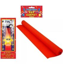 4.5m Red Carpet Hollywood Floor Runner Oscars VIP Party Aisle Decoration Prop UK