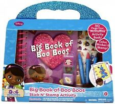 Tara Toy Doc McStuffins Big Book of Boo Boo's, New, Free Shipping