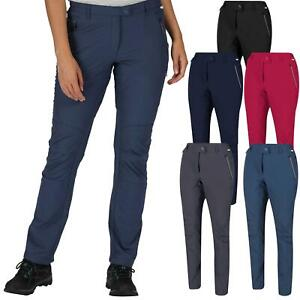 Regatta Womens Ladies Highton Stretch Outdoor Walking Hiking Trousers Pants New