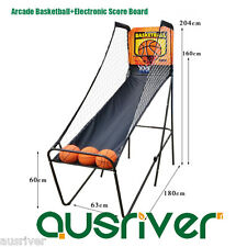 Adults Indoor Arcade Basketball+ Electronic Score Board Foldable Mullion 1911