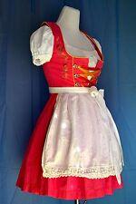 Stockerpoint Dirndl rosa Gr 34-36 mit original Bluse & Schürze Trachtenkleid