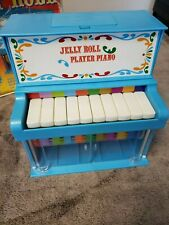 Vintage Janex 1978 Jelly Roll Player Piano Kids Toy