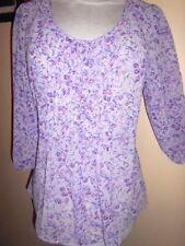 Career 3/4 Sleeve Hand-wash Only Floral Tops & Blouses for Women