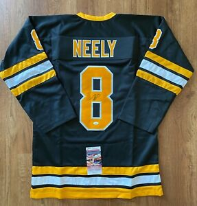CAM NEELY Signed AUTO Autographed Boston Bruins Jersey JSA COA NHL Hall of Fame
