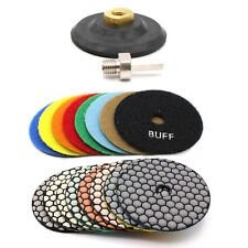 Diamante Dischi Abrasivi Dischi-Lucidatura a Strappo per Pietra Cemento Marmo