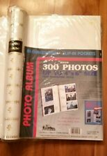 NEW Pioneer Ivory Leatherette Photo Album holds 300 4 x 6 or  panoramic  prints