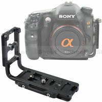 Quick Release Plate/Camera Bracket Grip for Tripod Ballhead&Sony a65/a58/a57/a55