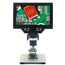 with Battery G1200 Digital Microscope 7 Inch LCD Color 12MP 1200X 1080FHD Z0W3