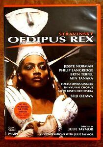 Stravinsky - Oedipus Rex, Norman, Ozawa, Taymor  - DVD, As New