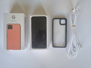 Google Pixel 4 XL 64GB Orange Factory Refurbished + Extras