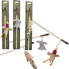 Spot Ethical Skinneeez forest friends Assorted  Cat Wand Single toy