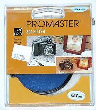 Pro 67mm 80B Blue Lens Filter B&W Color Film Digital 67 mm 80-B 80 B Japan OEM