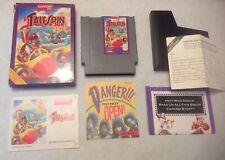 Disney's TaleSpin Nintendo NES Capcom Complete CIB Ducktales Darkwing