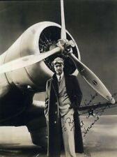 HOWARD HUGHES Signed Photograph - Tycoon / Aviator / Inventor / Engineer reprint