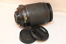 Nikon AF-S DX NIKKOR 55-200mm f/4-5.6G ED VR Telephoto Zoom Lens EXC++++