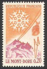 FRANCIA 1961 TURISMO/Mont DORE/SPORT/Sci/Tram/Neve/trasporto 1v (n23471)