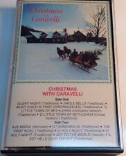 CARAVELLI Tape Cassette CHRISTMASS WHIT CARAVELLI 1982 CBS Records Canada