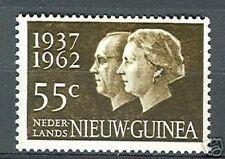 Ned Nieuw Guinea 75 zilveren huwelijk postfris/MNH