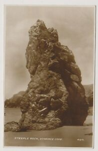 Cornwall postcard - Steeple Rock, Kynance Cove P/U 1947 (A286)