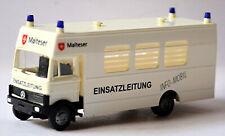 Mercedes Benz LP809 Operations Management Maltese Kaiserslautern 1:87 Busch