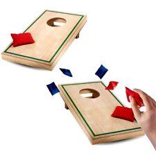 Desktop Cornhole Board Bean Bag Toss Mini Game Set Classic Toy Gift Men Tabletop