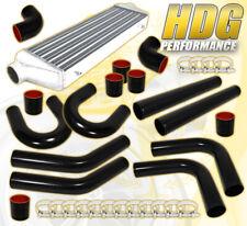 """2.5"""" X8 Pcs Piping Kit + Black Coupler + T-Bolt Clamps+ Turbo Intercooler Fmic"""